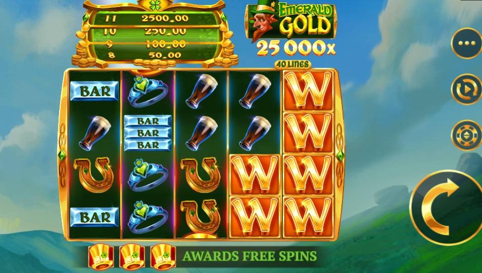 Emerald gold - Bonus features