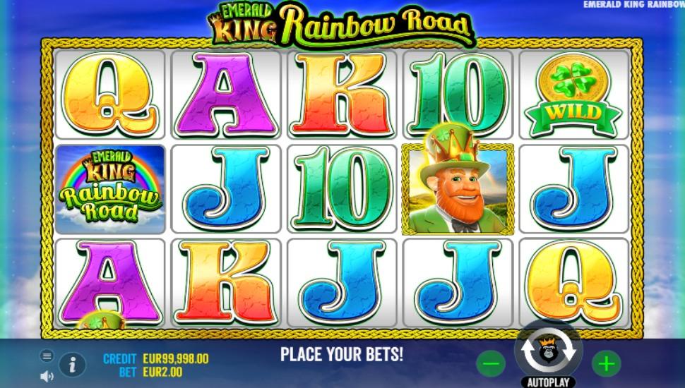 Emerald King Rainbow Road - Slot