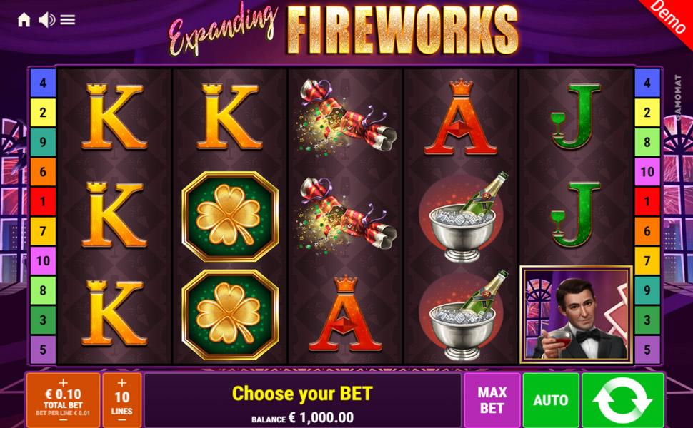 Expanding Fireworks - Slot