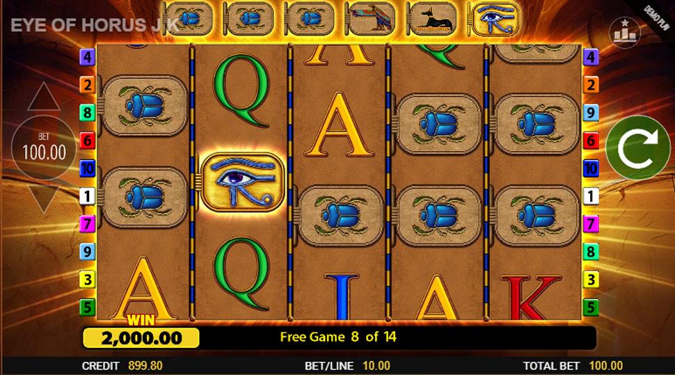 Eye of Horus Jackpot King - Slot