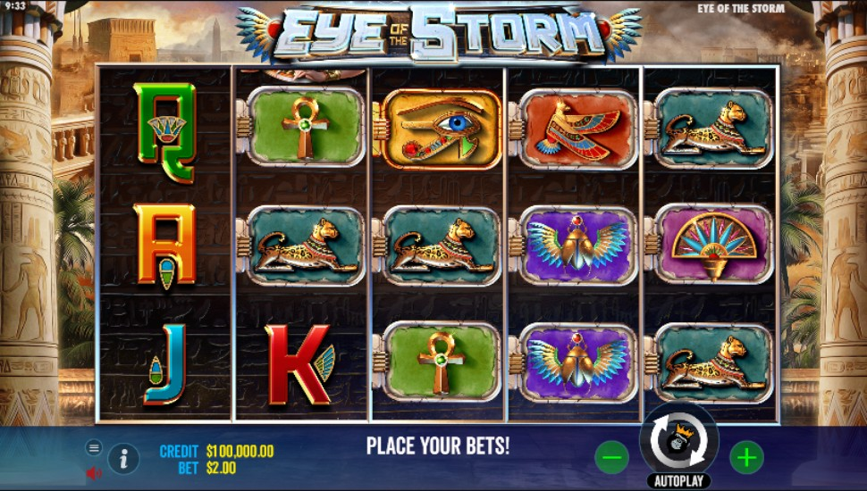 Eye of the Storm - Slot