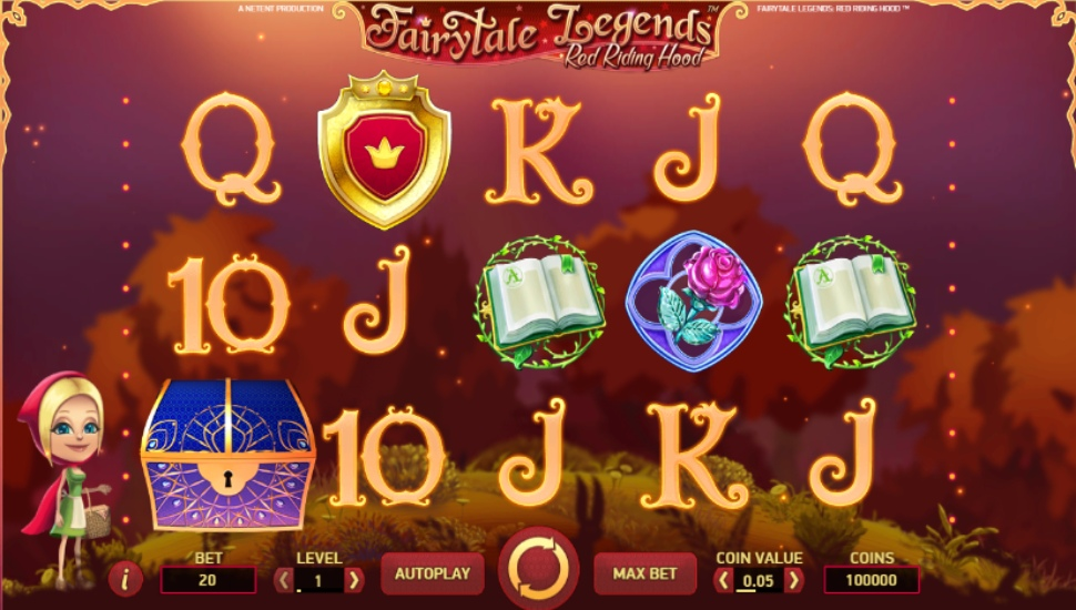 Fairytale Legends: Red Riding Hood - Slot