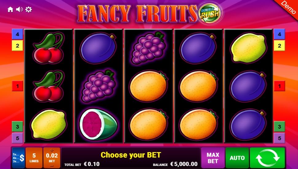 Fancy Fruits Double Rush - Slot