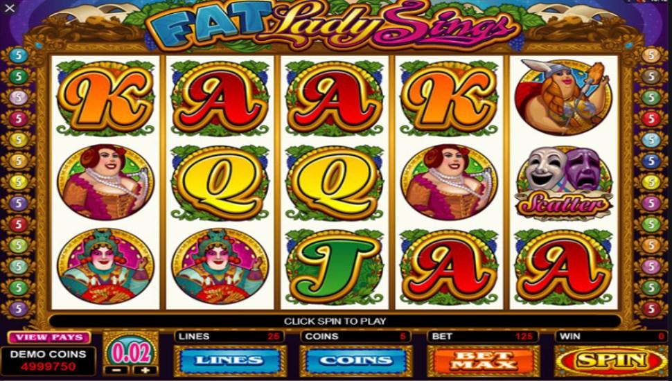 Fat Lady Sings - Slot
