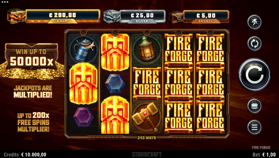 Fire Forge - Slot