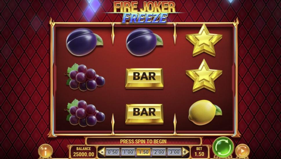 Fire Joker Freeze - Slot