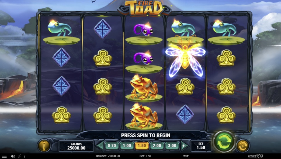 Fire Toad - Slot