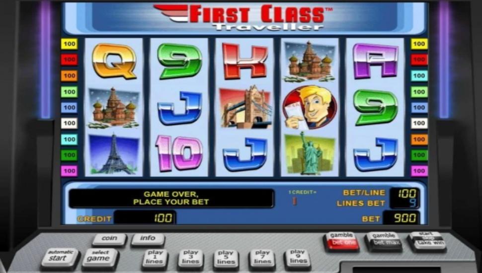 First Class Traveler - Slot