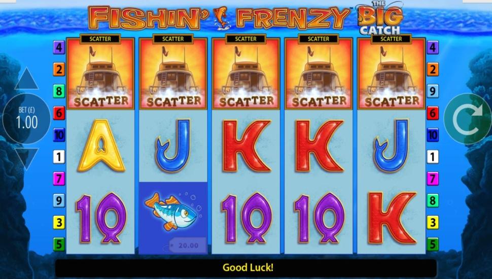 Fishin' Frenzy The Big Catch - Bonus Features