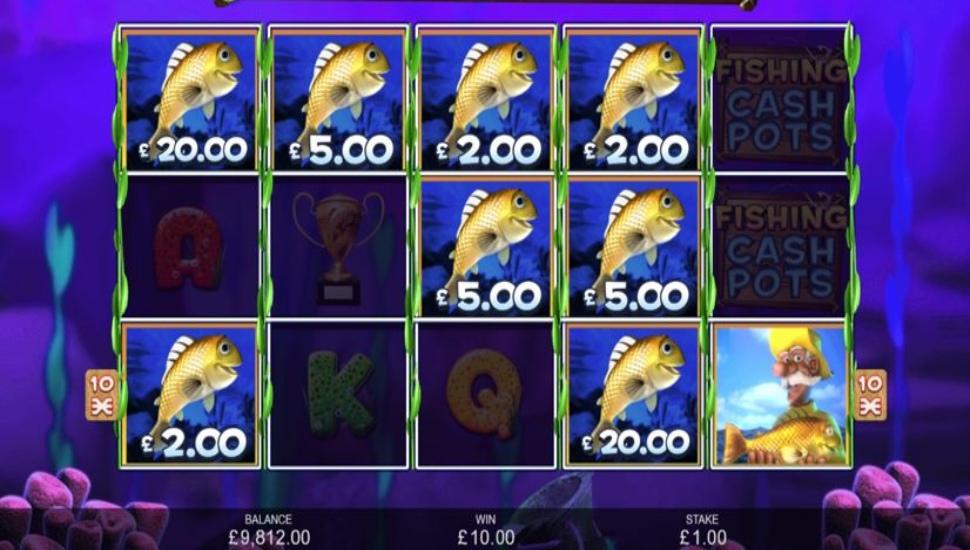 Fishing Cash Pots - Bonus Features