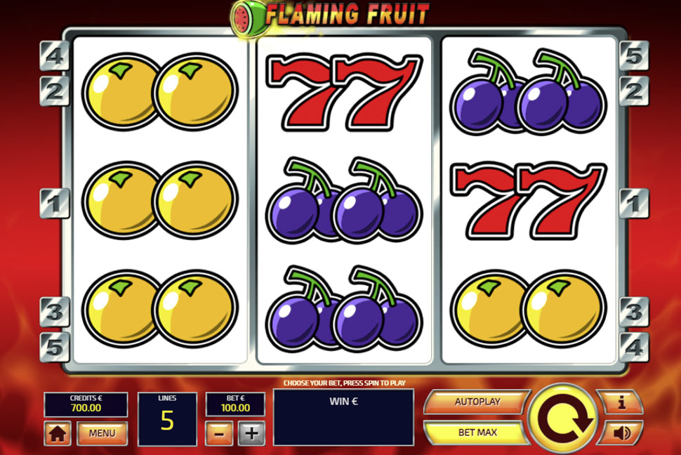 Flaming Fruit - slot