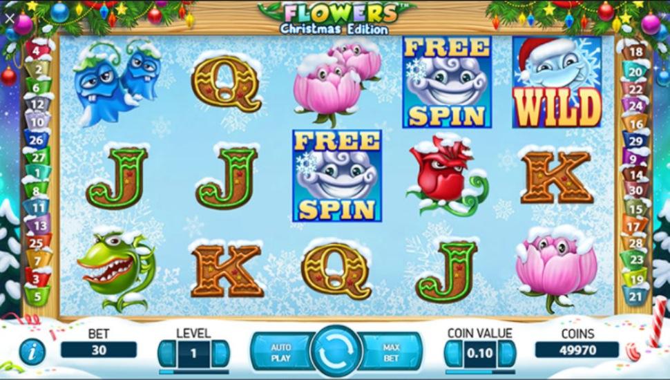 Flowers Christmas Edition - Slot