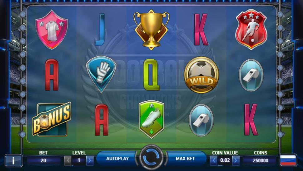 Football: Champions Cup - Slot
