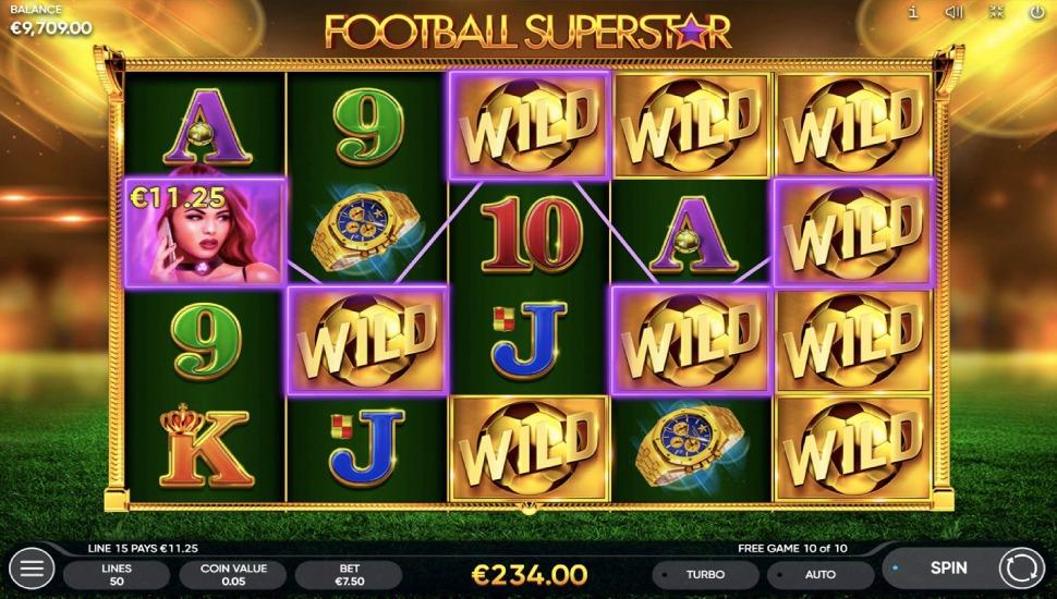 Football Superstar - Slot