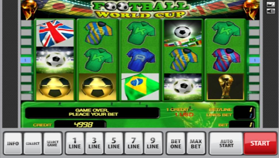 Football World Cup - Slot