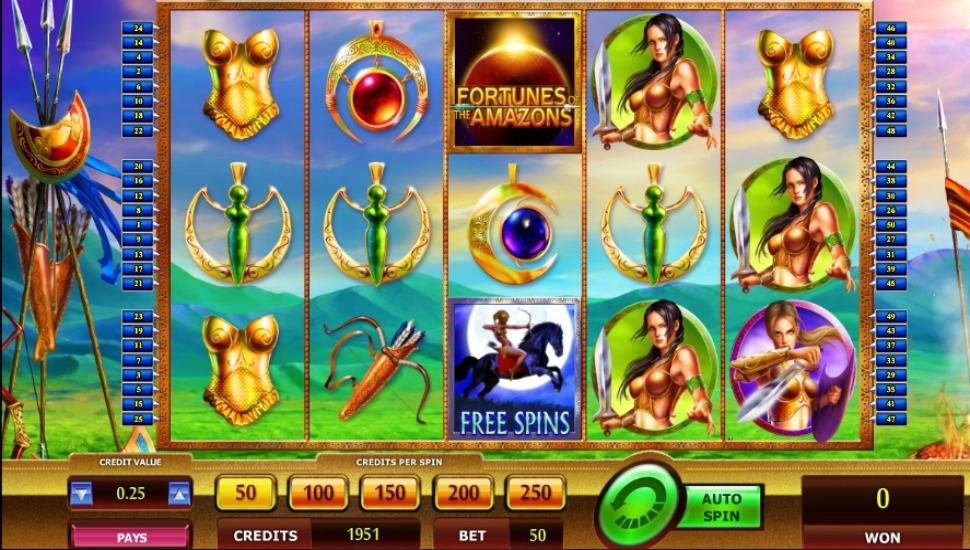Fortunes of the Amazons - Slot