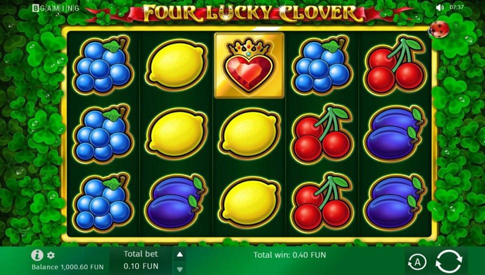 Four Lucky Clover - Slot