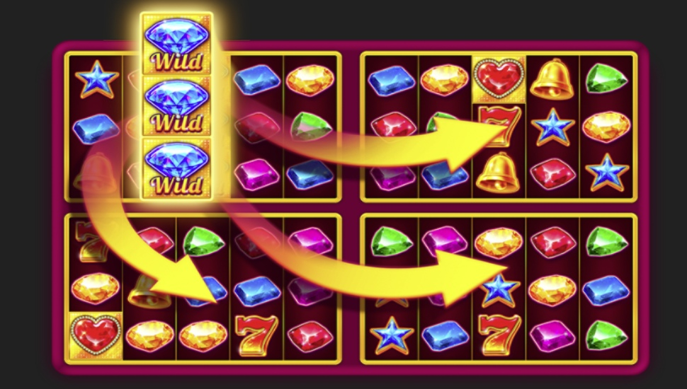 Four lucky diamonds - Bonus features