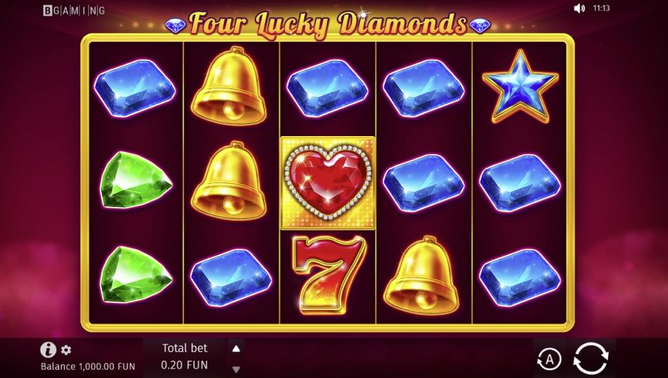Four Lucky Diamonds - Slot