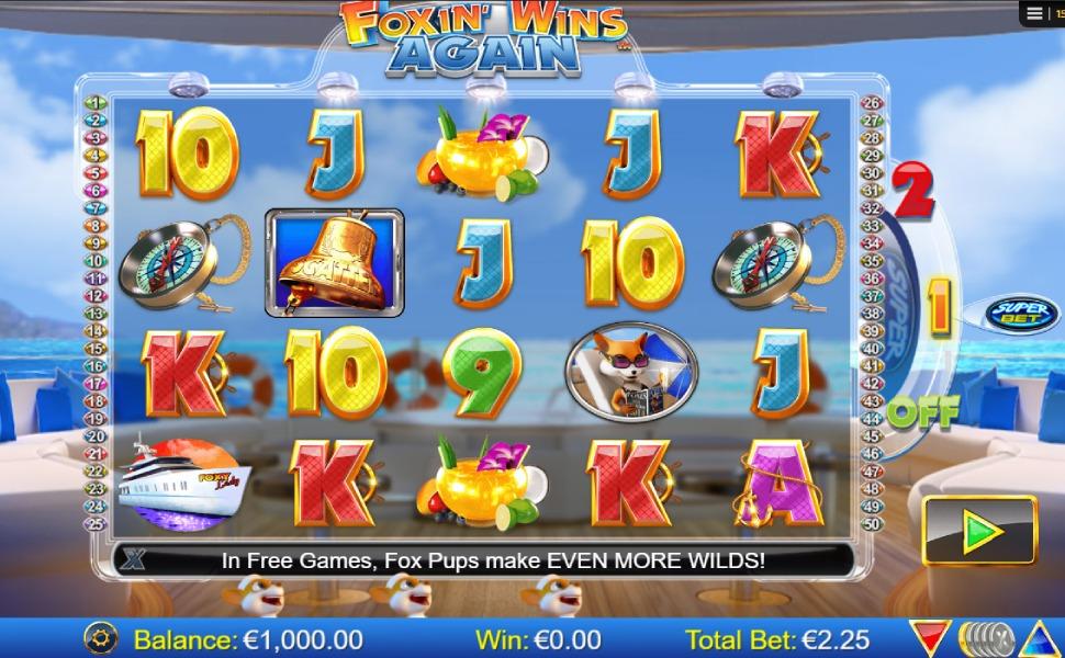 Foxin Wins Again - Slot