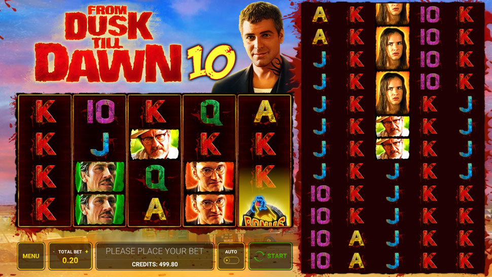 From Dusk till Dawn 10 - Slot
