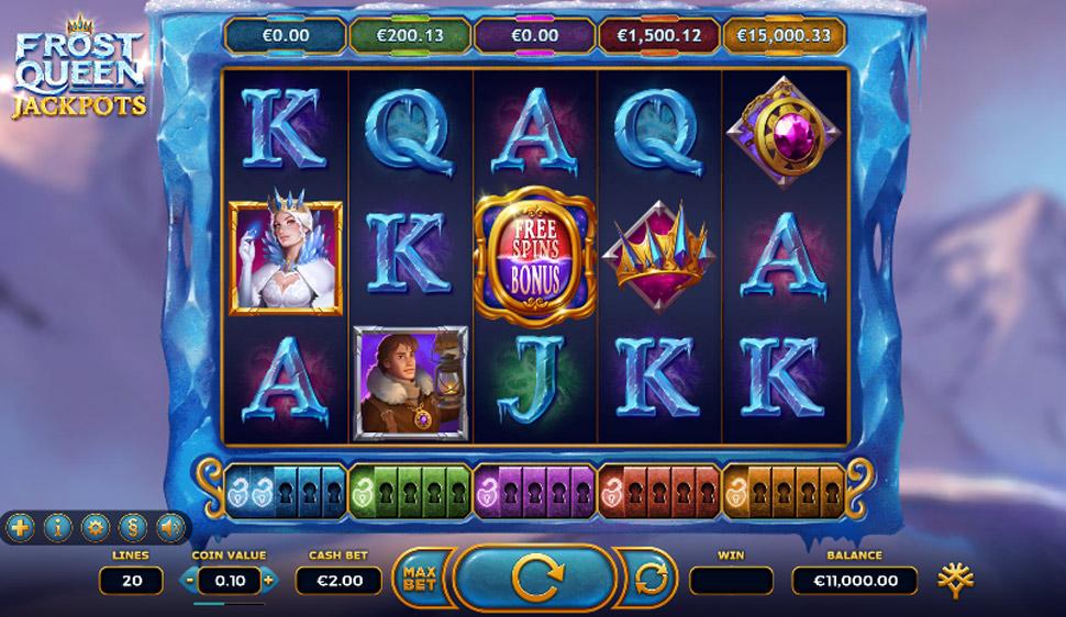 Frost queen jackpots - Slot