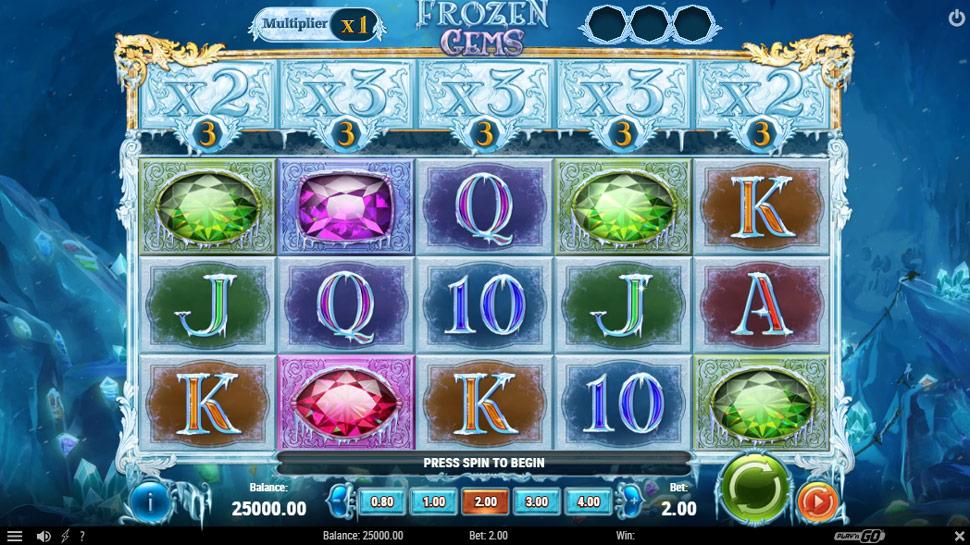 Frozen Gems - Slot