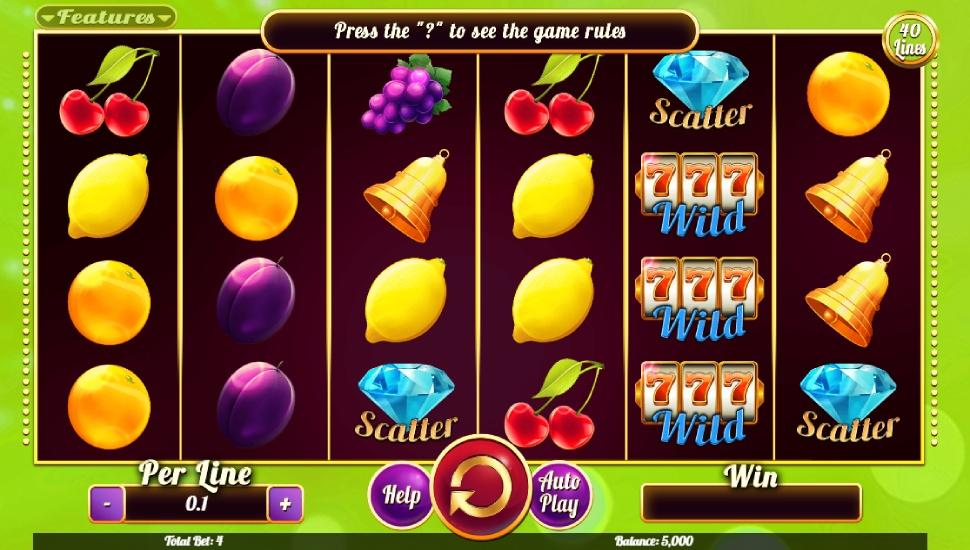 Fruits Collection 40 Lines - Slot