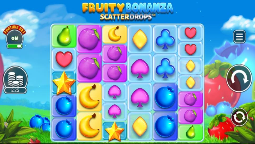 Fruity Bonanza Scatter Drops - Bonus Features