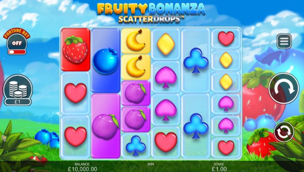 Fruity Bonanza Scatter Drops - Slot