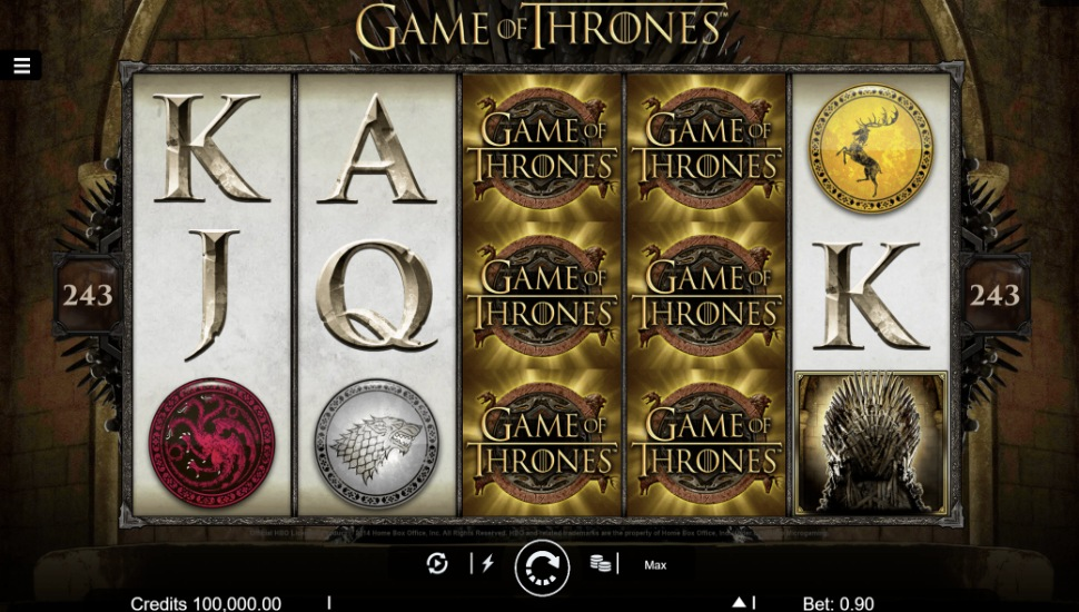 Game of Thrones  - Slot