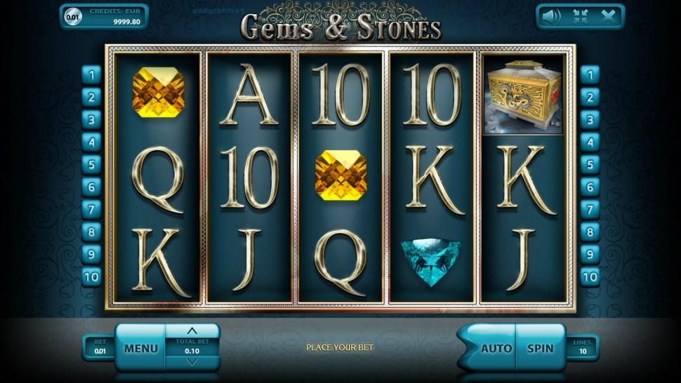 Gems & Stones - Slot