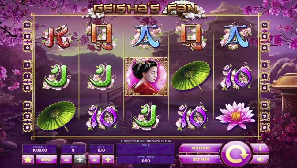 Geisha's Fan - Slot