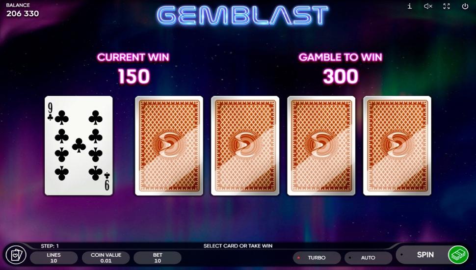 Gemblast - Gamble