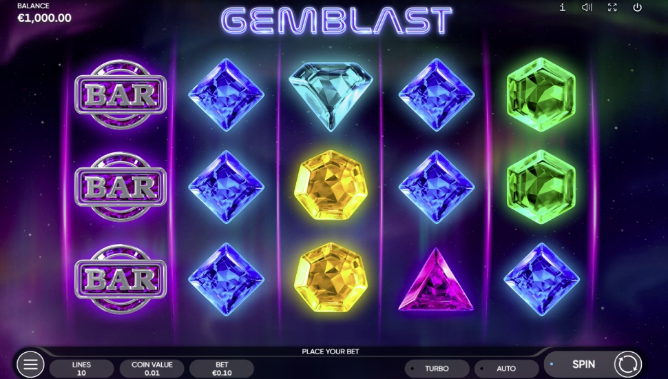 Gemblast - Slot
