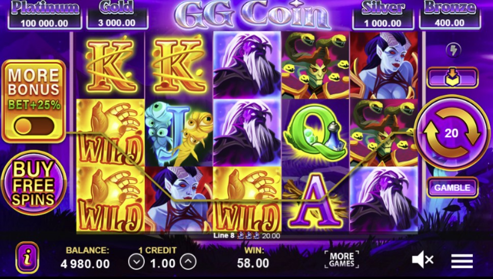 GG Coin: Hold the Spin Slot by Gamzix