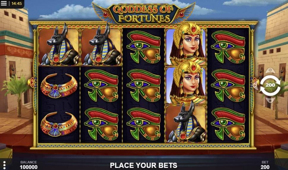 Goddess of Fortunes - slot