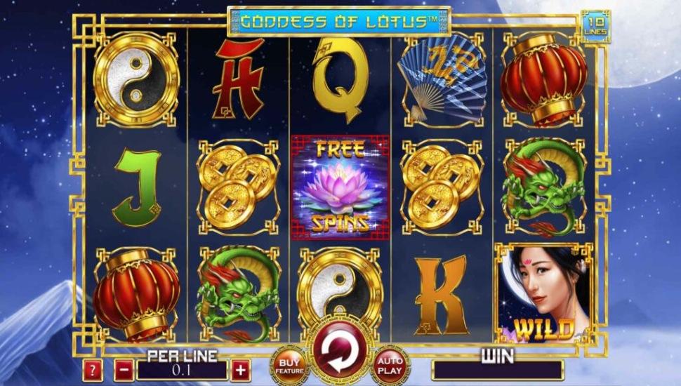 Goddess of Lotus 10 Lines - Slot