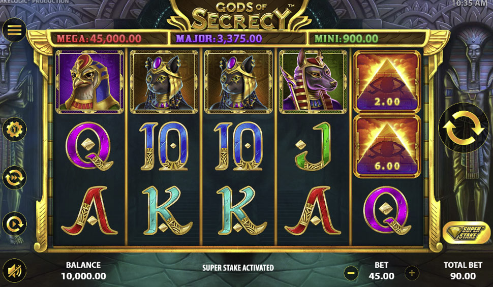 Gods of secrecy - slot