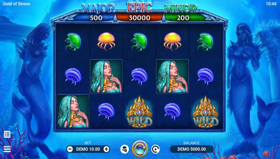 Gold of Sirens - Slot