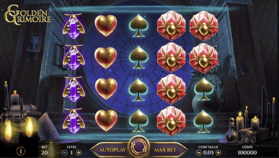 Golden Grimoire - Slot
