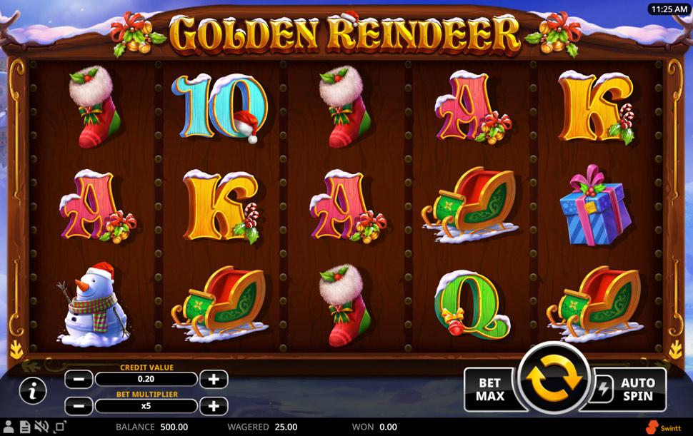 Golden Reindeer - Slot
