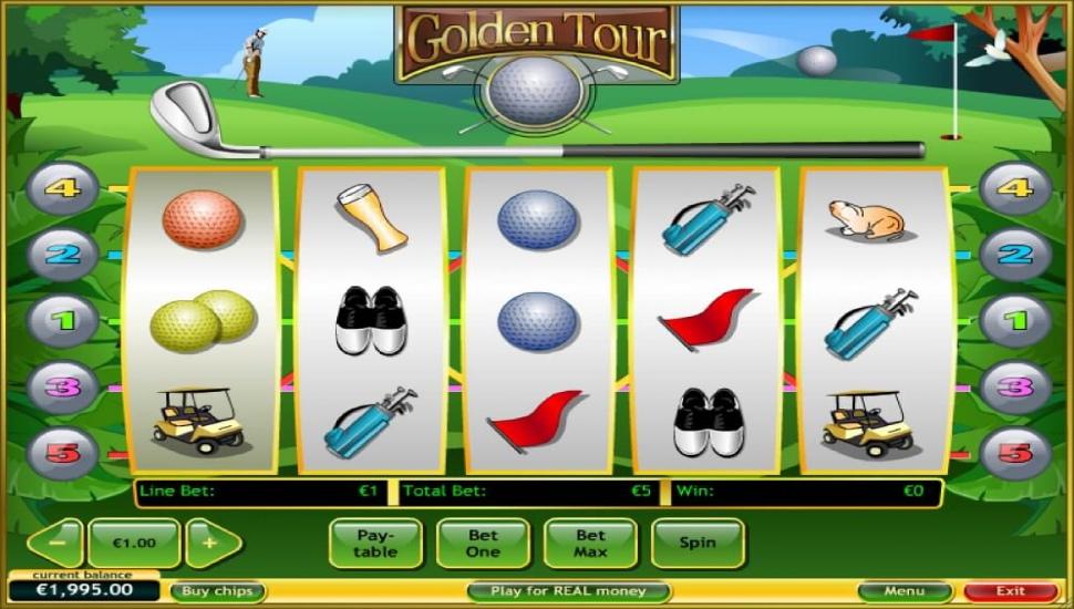 Golden Tour - Slot