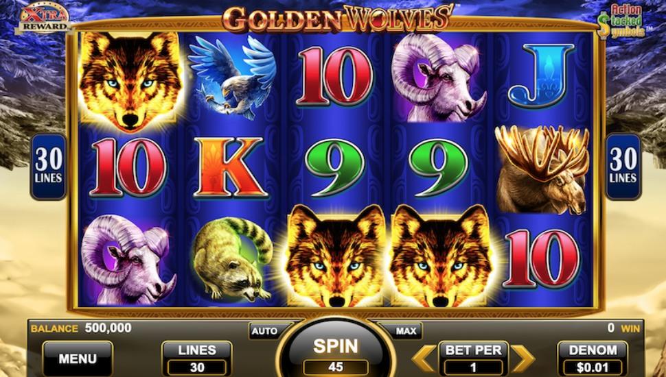 Golden Wolves - Slot