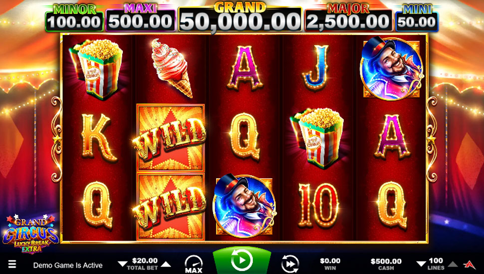 Grand Circus Lucky Break Extra - Slot