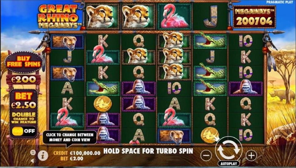 Great Rhino: Megaways Online Slot