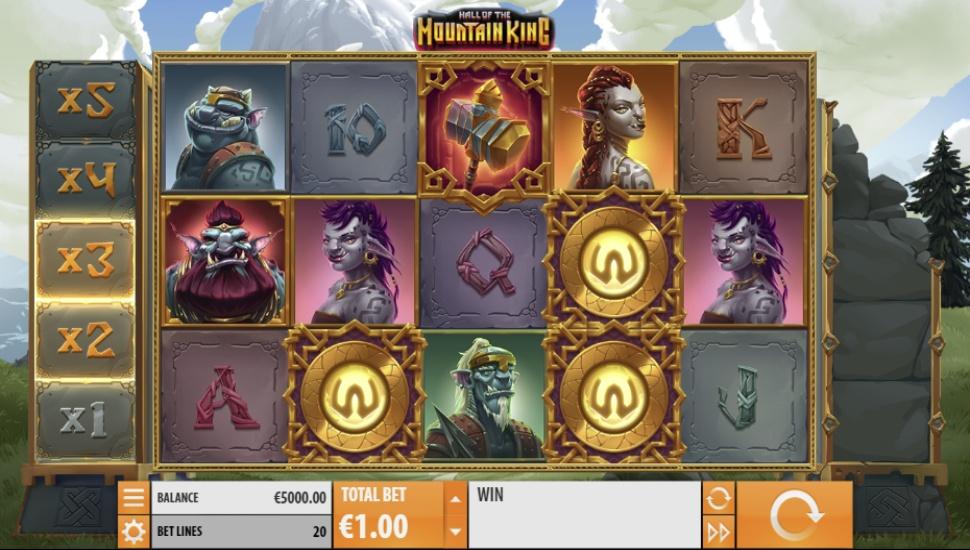 Hall of the Mountain King - Slot