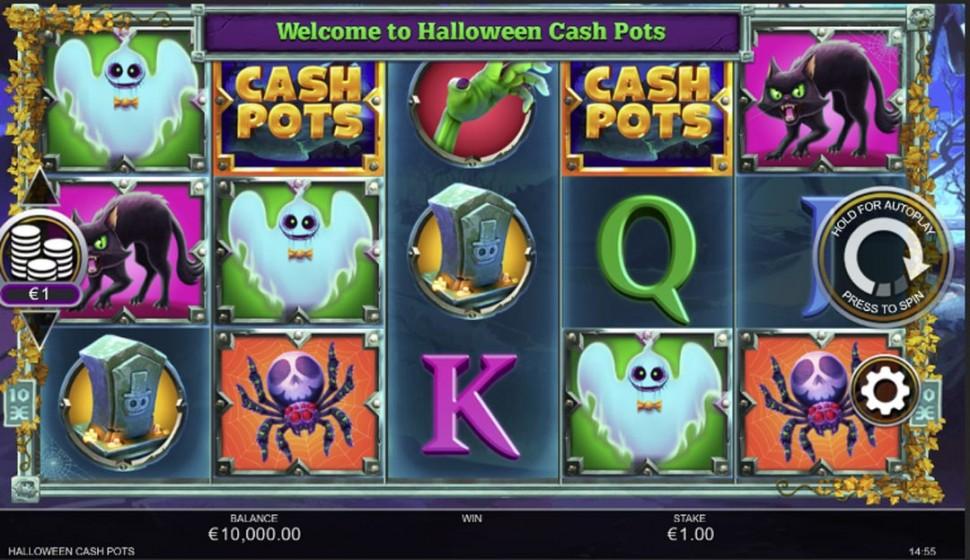 Halloween Cashpots-slot