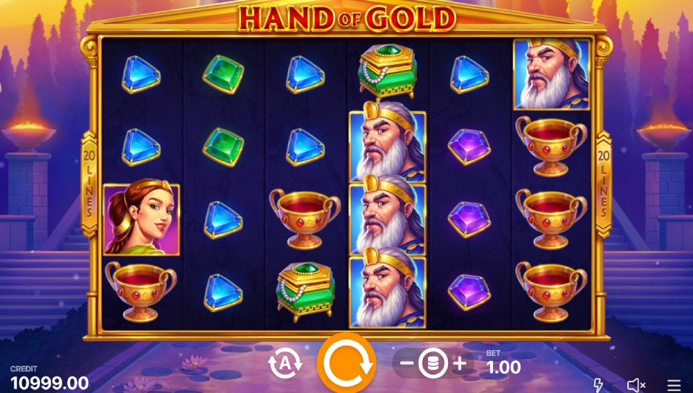Hand of Gold - Slot