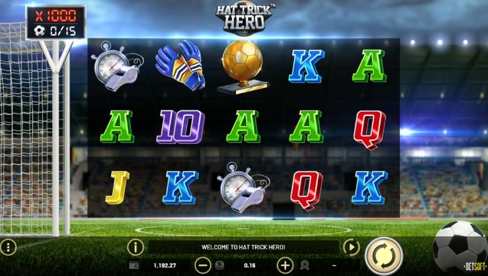 Hat Trick Hero - Slot
